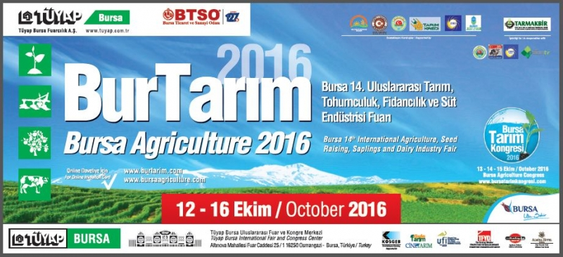 Bursa 14. International Agriculture, Seed Raising, Sapling and Dairy Industry Fair