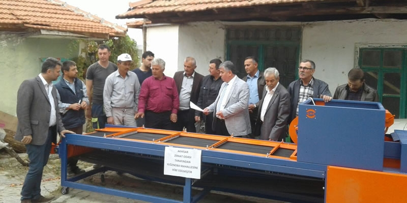 Cinarli Machine has delivered the Olive Sieving Machines that Akhisar Chamber Of Agriculture granted to 3 different villages.