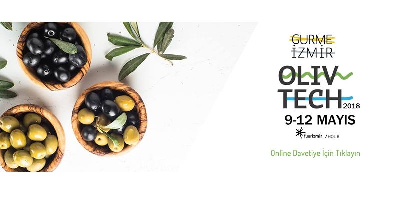 "We, CINARLI MACHINE, are participating in to the 8th OLIVTECH 2018 ""GOURMET IZMIR"" exhibition."