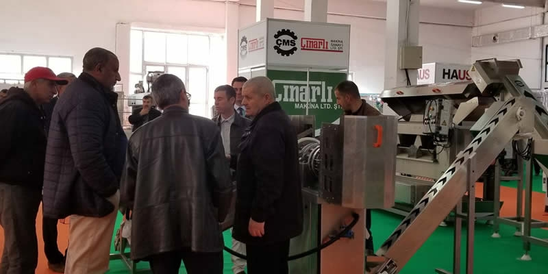 CMS Çinarli Makina est à Med Mag Oliva Algeria !