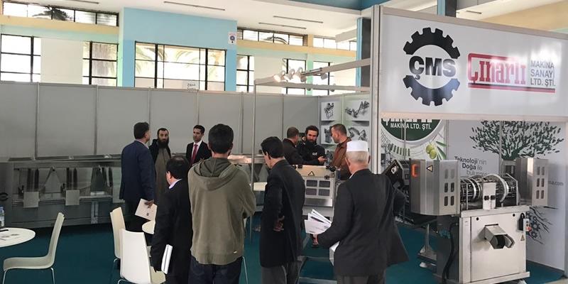 ÇMS Çınarlı Makina Med Mag Oliva Algeria'da!