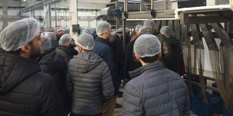 THE VISIT OF EGE UNIVERSITY FACULTY OF AGRICULTURE AND THE DEPARTMENT OF AGRICULTURAL MACHINERY & TECHNOLOGIES ENGINEERING TO ÇINARLI MAKİNA