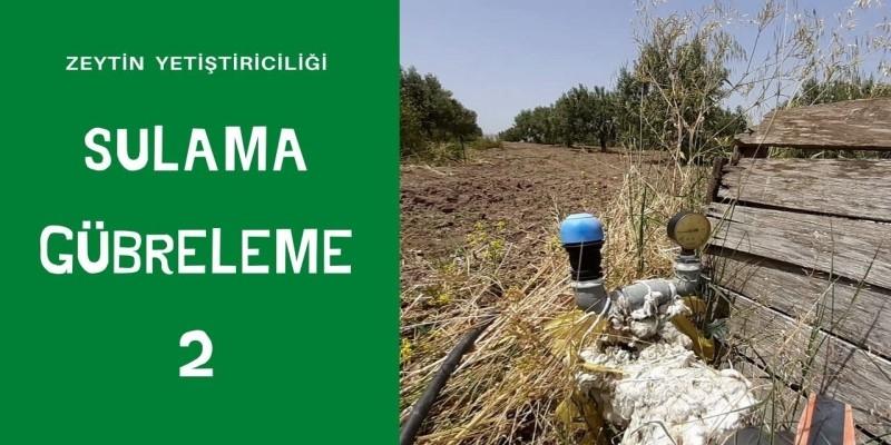 SULAMA GÜBRELEME 2