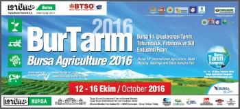 Bursa 14. Uluslararası Tarım, Tohumculuk, Fidancılık ve  Süt Endüstrisi Fuarı