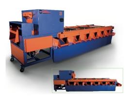 Elektrostatik Boyalı V Kayışlı Zeytin Eleme Makinası ÇM002