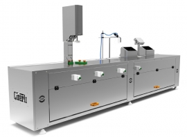 Weight Checking, Brine Filling And Lid Closing Table CM063 SINGLE SCALE UNIT