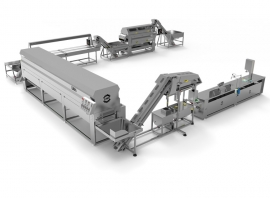 Oil Cured Olive Processing Line CML04