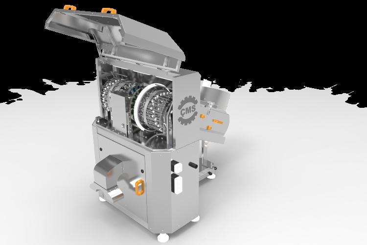 Zeytin Çekirdeği Çıkarma ve Zeytin Dilimleme Makinası (18 Bıçaklı)