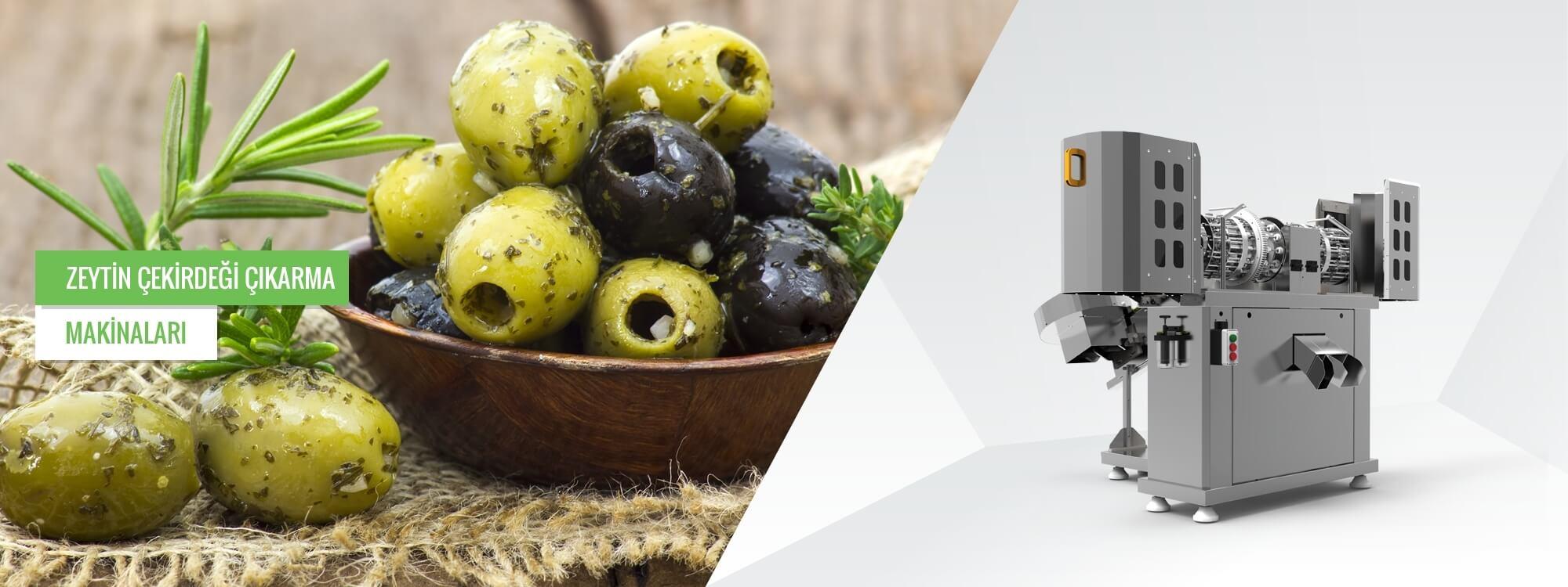 Zeytin Çekirdeği Çıkarma Makinaları Tr